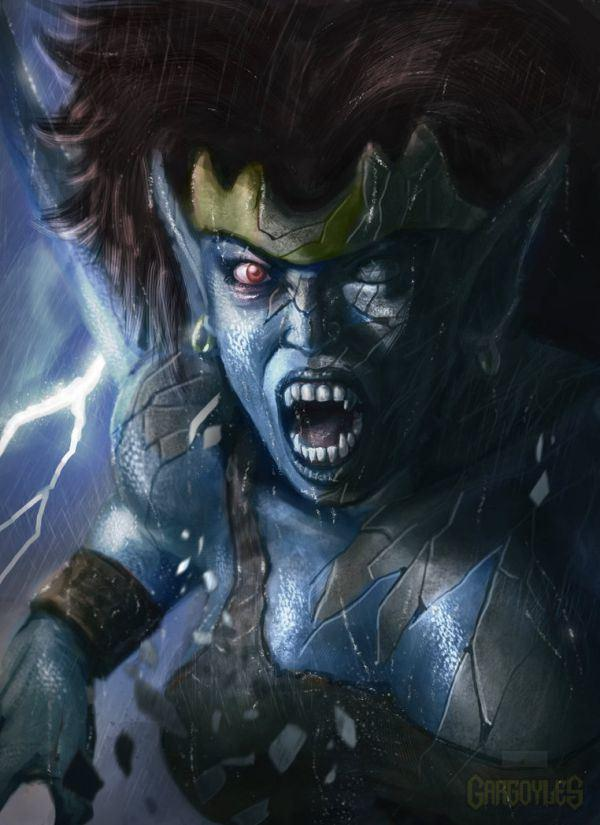 Possible Reboot Look Of Gargoyles Animated Series   The ...