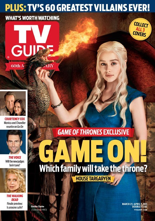 Covers, Portraits, Outtakes, TV Guides Game of Thrones Issue | The