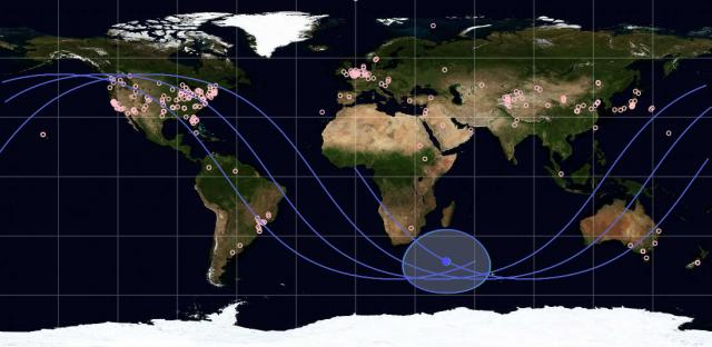 PhoneSat Map