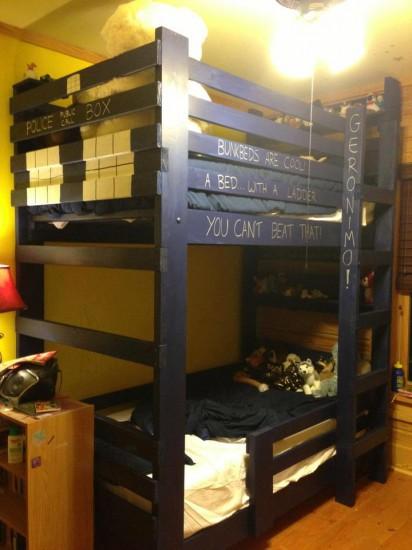 I Sleep In A Tardis Bunk Bed Now Tardis Bunk Beds Are