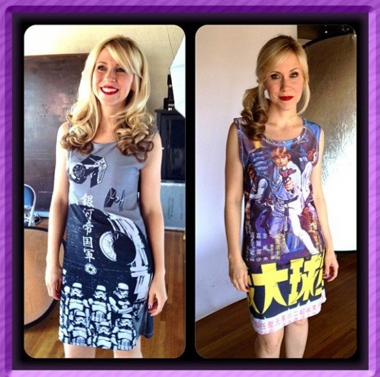 Super Cute and Geeky New Star Wars and Doctor Who Dresses From Her