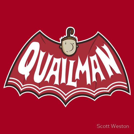 Things We Saw Today: Quailman as Batman | The Mary Sue Quailman