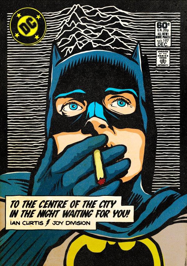Ian Curtis Batman