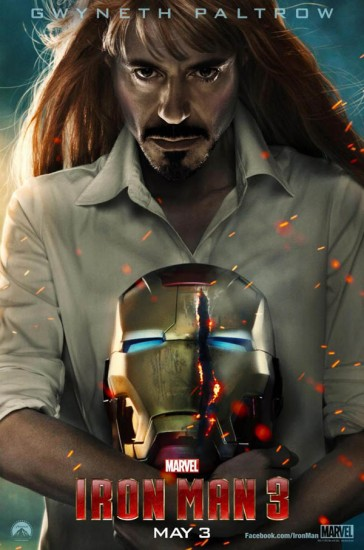 Because your friday needs beautifying here's pepper potts with tony