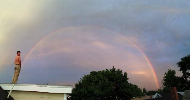 Pee Rainbow