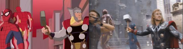 avengers comparison