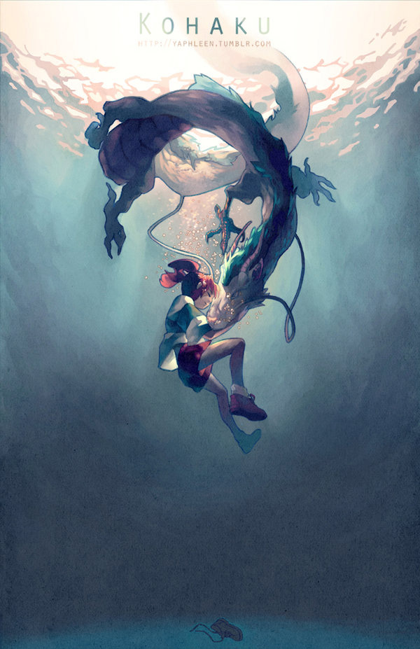 Studio Ghibli Inspired Illustrations By Yaphleen The Mary Sue