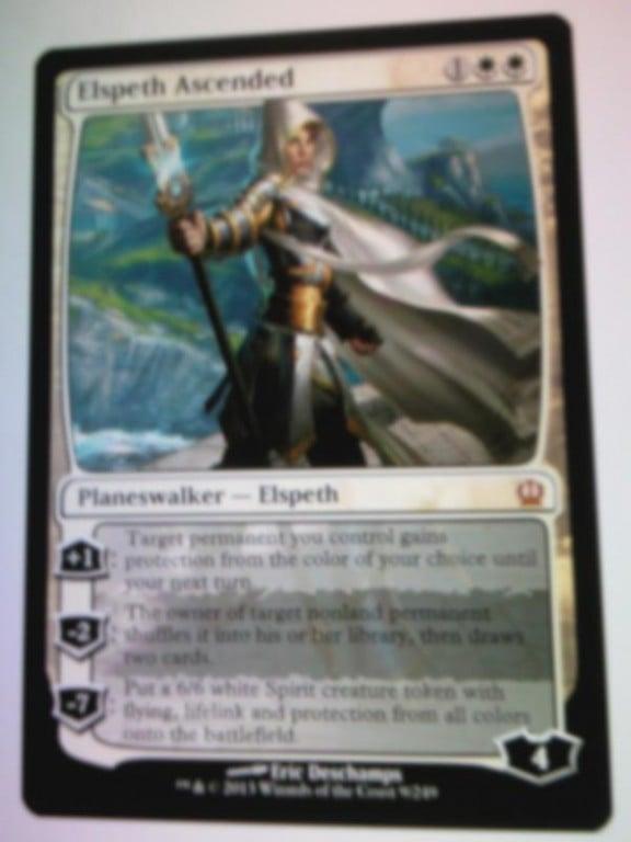 Elspeth Ascended Card Leak