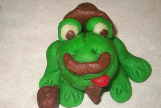Mustache Frog