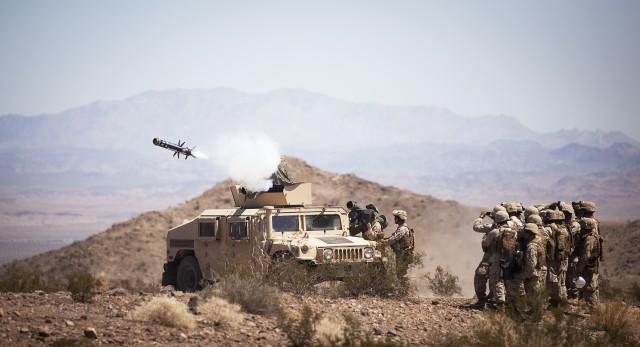 Javelin missiles