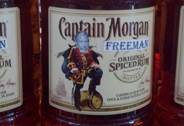 Captain Morgan Freeman Cover