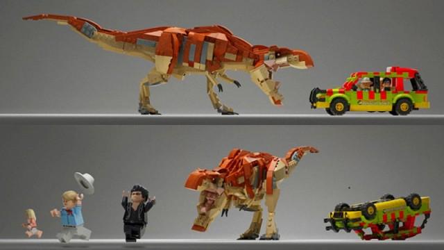 LEGO Jurassic Cover