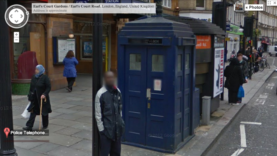 Explore Doctor Who S Tardis On Google Maps The Mary Sue