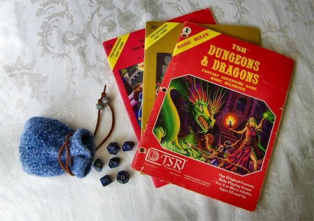 TSR_DnD_books