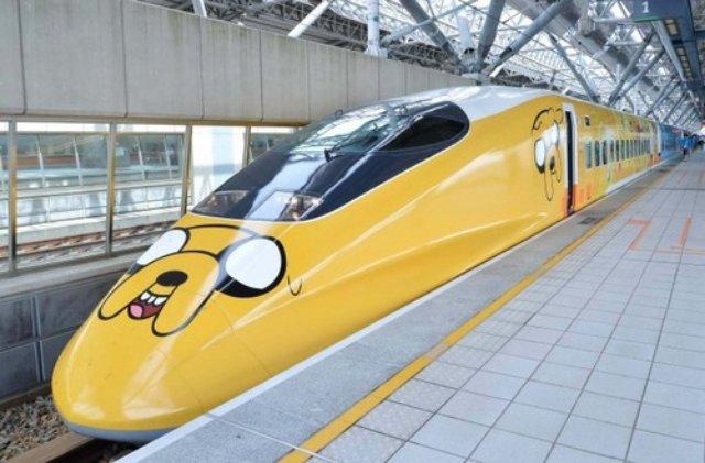 adventure time train