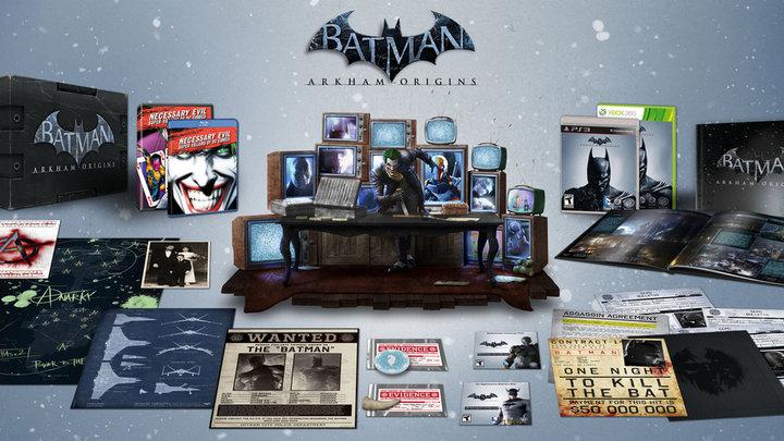 The Batman Arkham Origins Special Edition Is Enormous