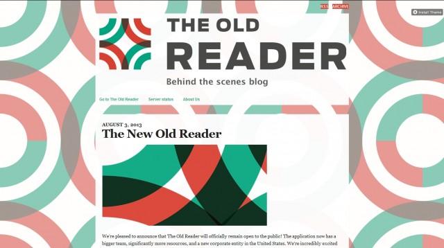 new old reader