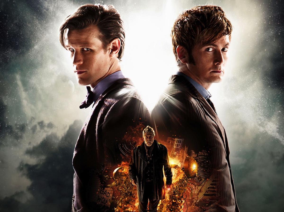 David Tennant and Matt Smith Love Playing The Doctor ...