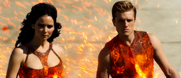 Catching fire scenes leaked celebrity