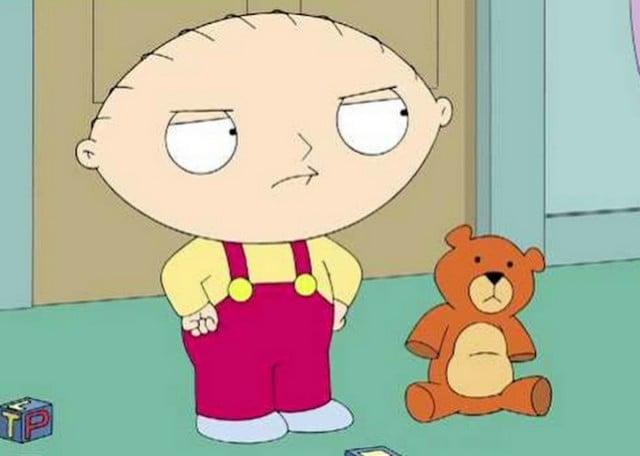 Relax. Stewie's fine.