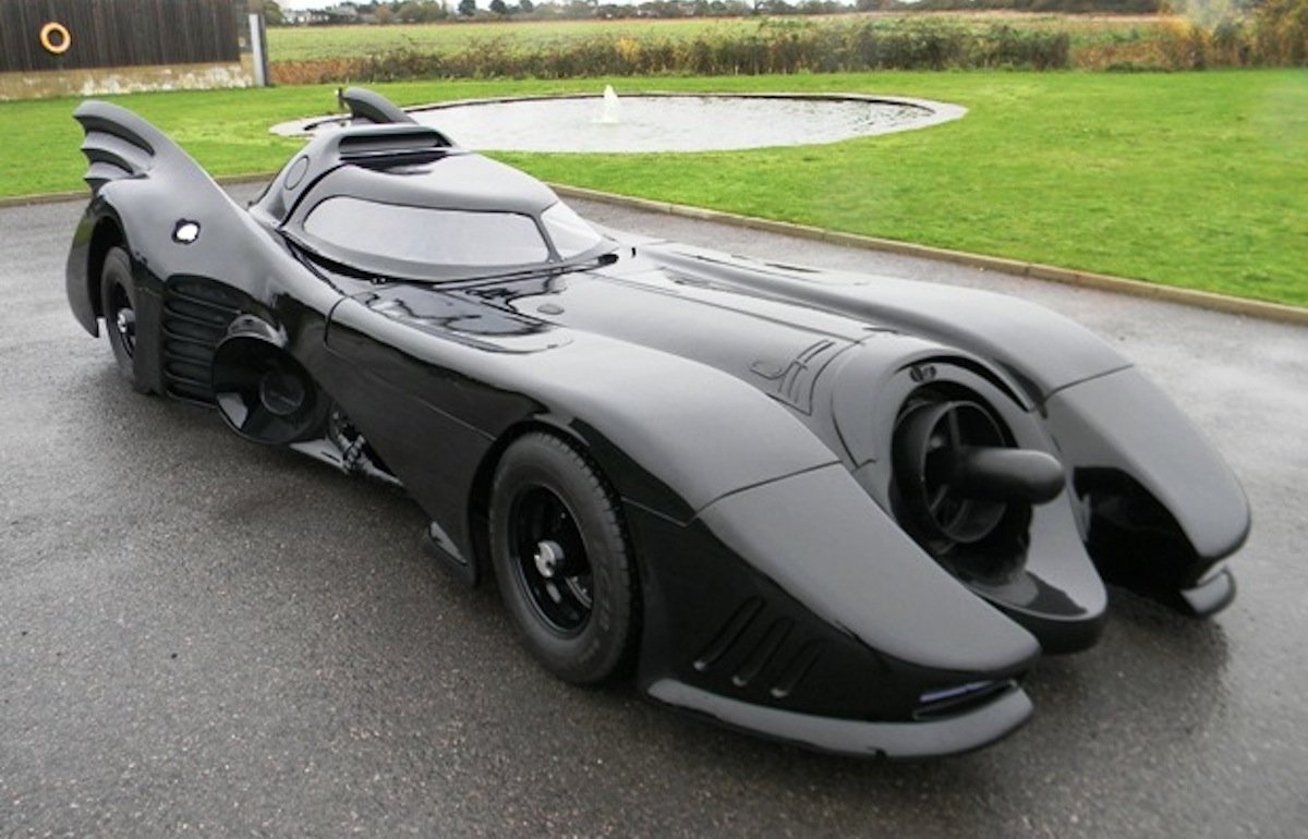 Flame-Throwing Batmobile Replica For Auction In The UK