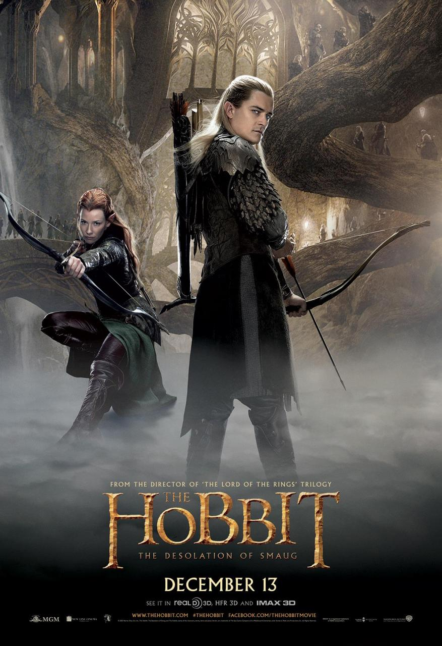 Tauriel Legolas The Hobbit Butt Pose Poster   The Mary Sue