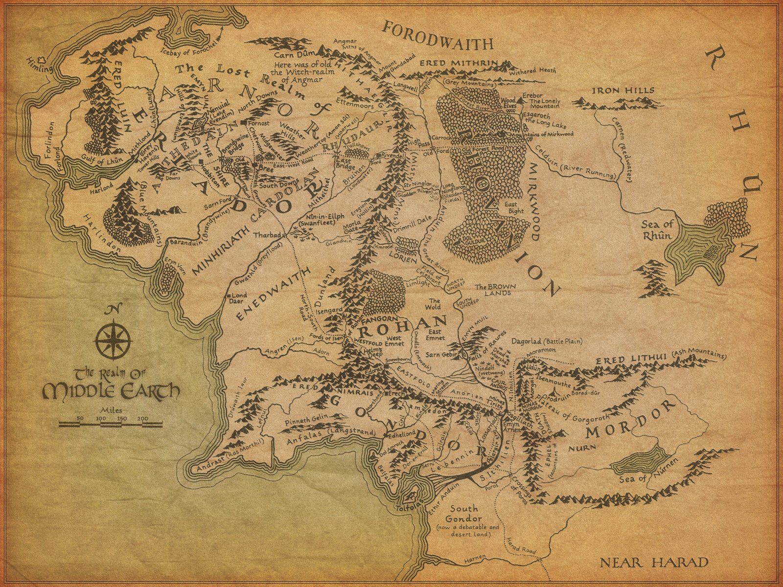 Google Maps Releases Interactive Middle Earth Map | The Mary Sue
