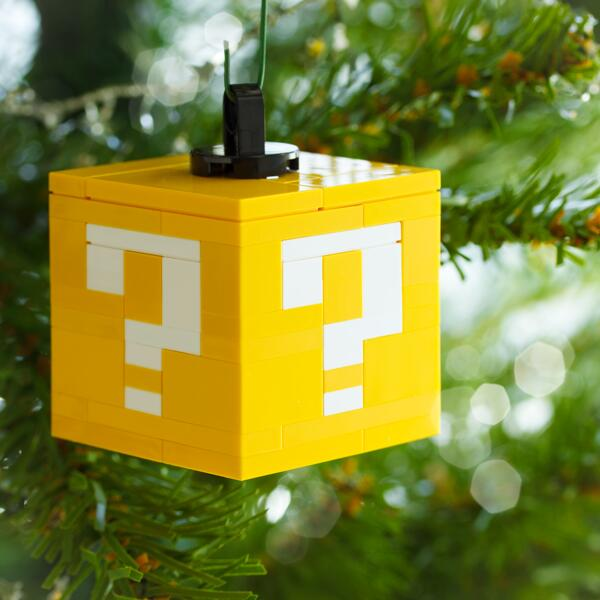 Build Your Own LEGO Christmas Ornaments, Impress Your