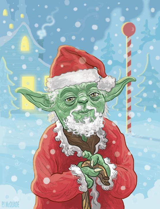Yoda-Santa-Claus-Star-Wars-Christmas-Card-PJ-McQuade-1.jpg