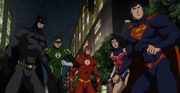 Review Warner Bros Animated DC Comics Justice League War ...