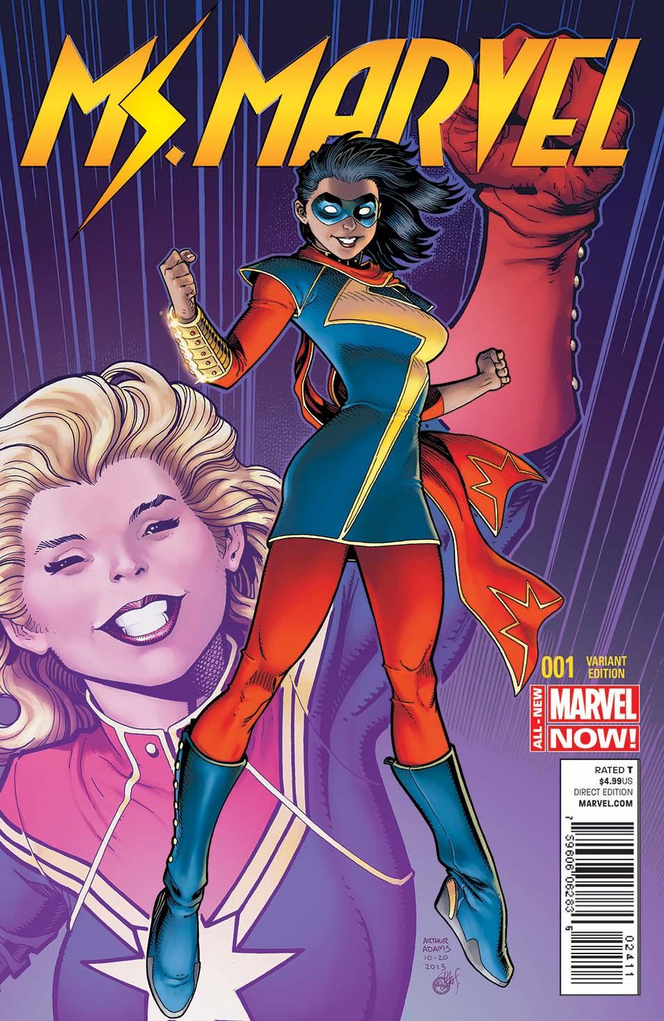 Ms Marvel Kamala Khan Cover