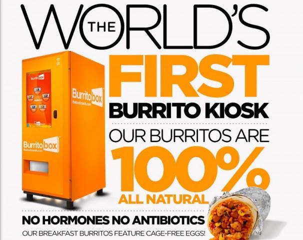 Burrito Box Kiosk