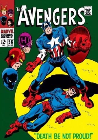 Avengers #56 Cover