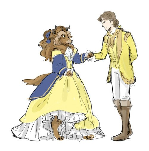 Genderswapped Beauty And The Beast The Mary Sue