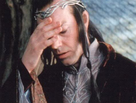 Elrond Facepalm The Mary Sue