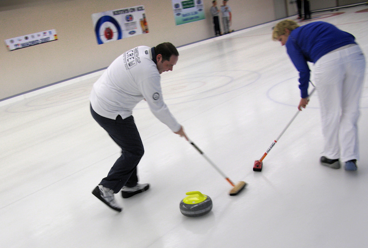 Why Do They Sweep In Curling We Explain The Science The