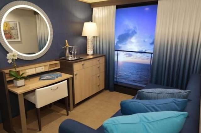 Virtual balconies will make your cheap room seem less for Cheap cruise balcony rooms