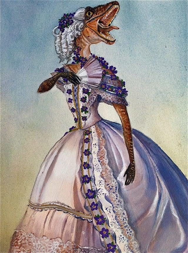 Victorian Velociraptor Adam Mazur The Mary Sue