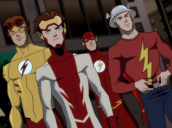 met the Flash and had only Young Justice Flash Family