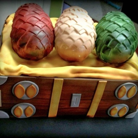 Things We Saw Today: A Dragon Egg Cake Fit For A Khaleesi ...