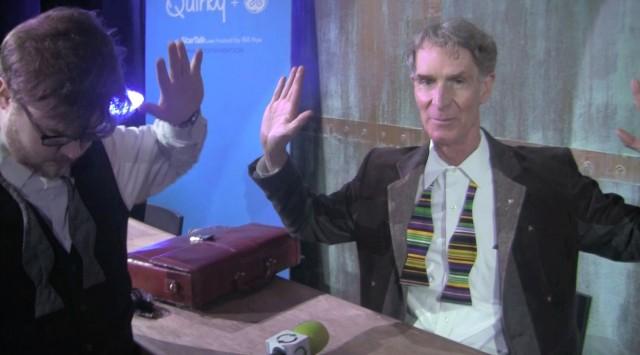 Bill Nye Glen Tickle Bow Tie Race
