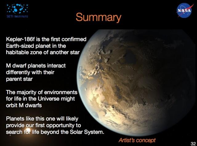 Kepler-186f Summary