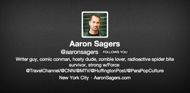 Aaron Sager Twitter