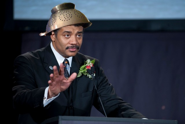 Neil deGrasse Tyson Speaking During Pastafarian Conference ...