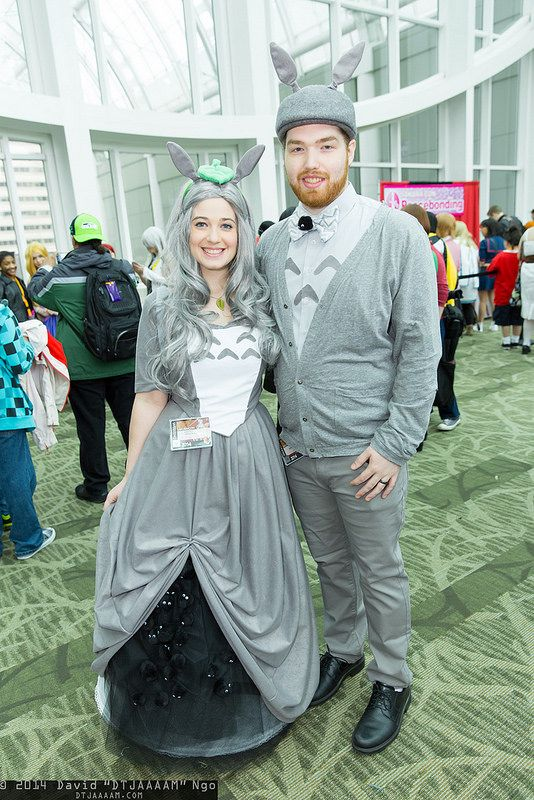 Things We Saw Today Adorable Totoro Couples Cosplay The Mary Sue