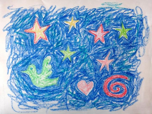 Crayon Stars