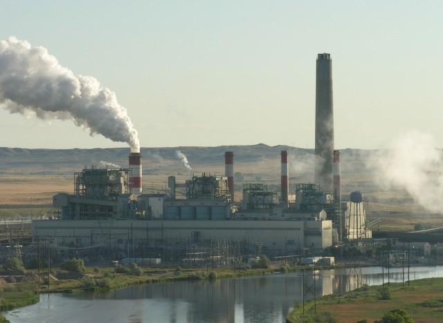Wyoming coal Plant