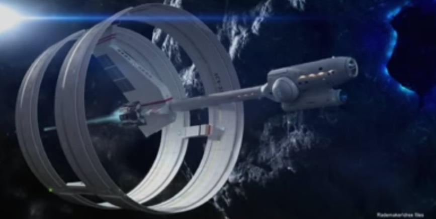Nasa Ixs Enterprise Faster Than Light Warp Drive Ship Design The Mary Sue