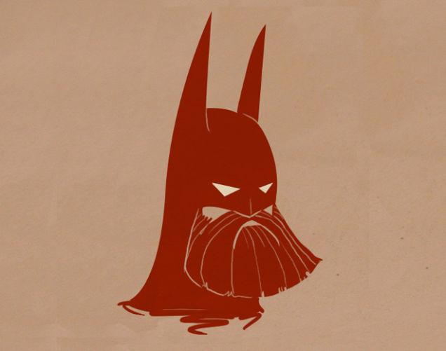 Bearded Batman Villains Batman Beard