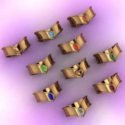 tiara rings